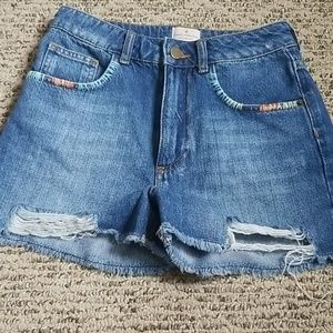 French Connection jean shorts